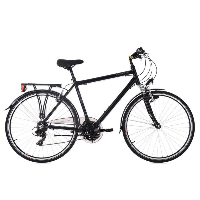 vtc homme 28 aluminium canterburry noir guidon plat tc 54 cm ks cycling couleur unique ks la. Black Bedroom Furniture Sets. Home Design Ideas