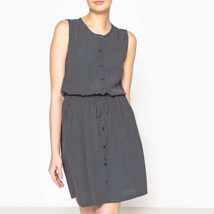 Laure Short Flared Polka Dot Print Dress  HARRIS WILSON image 0