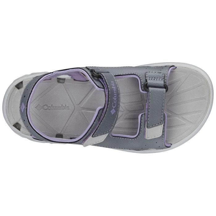Techsun vent - sandales enfant - gris/rose gris / violet Columbia