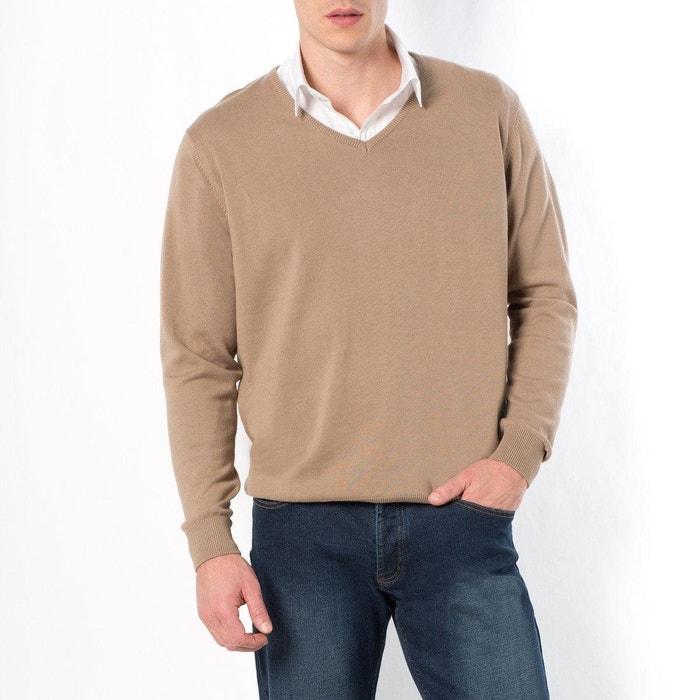 Image Long-Sleeved V-Neck Jumper/Sweater CASTALUNA FOR MEN