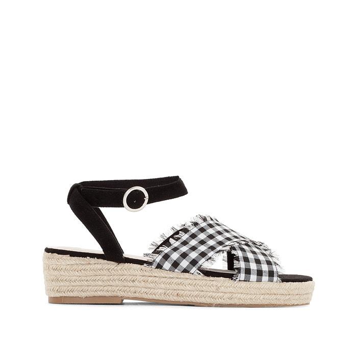 Wide Fit Rope Wedge Sandals, Sizes 38-45  CASTALUNA PLUS SIZE image 0