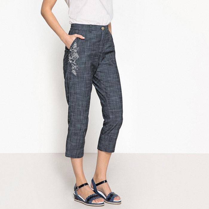 Image Pantaloni a pinocchietto stretch ricamati ANNE WEYBURN