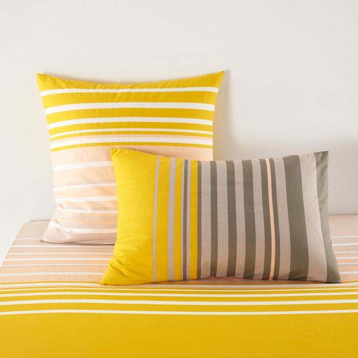 Image Taie d'oreiller, URBAN MIX PASTEL, imprimée, en coton. La Redoute Interieurs