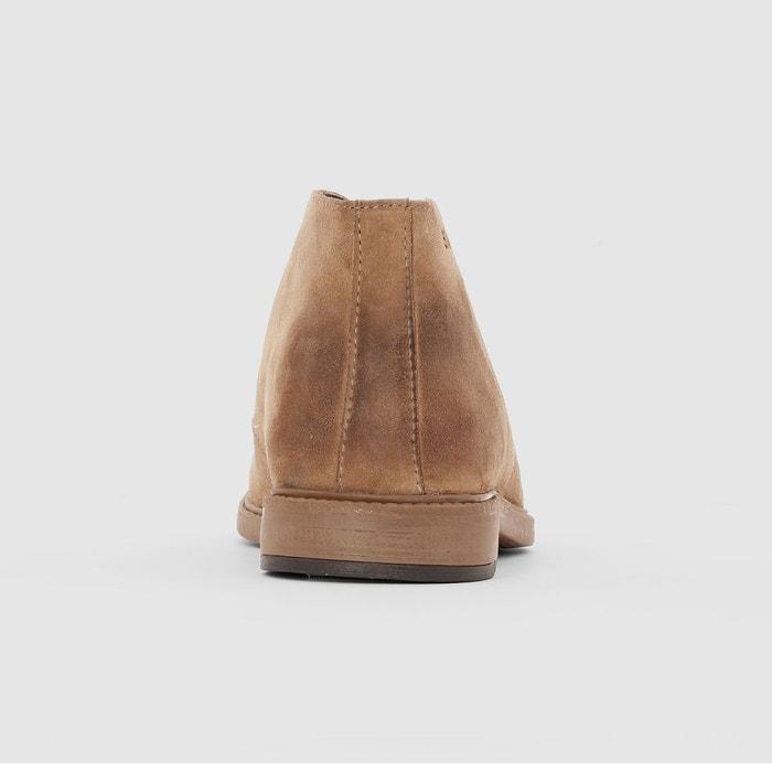Boots cuir redskins samy taupe Redskins
