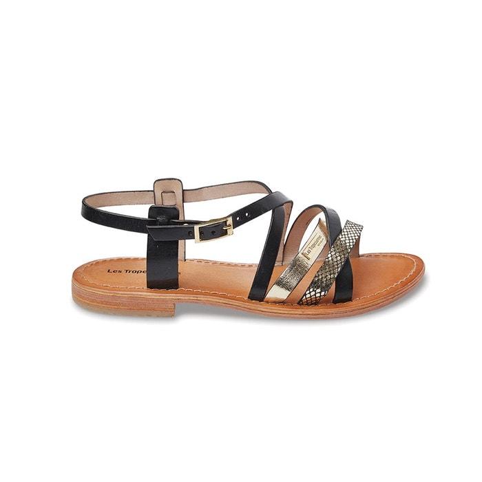 sandales cuir hapax les tropeziennes par m belarbi la redoute. Black Bedroom Furniture Sets. Home Design Ideas