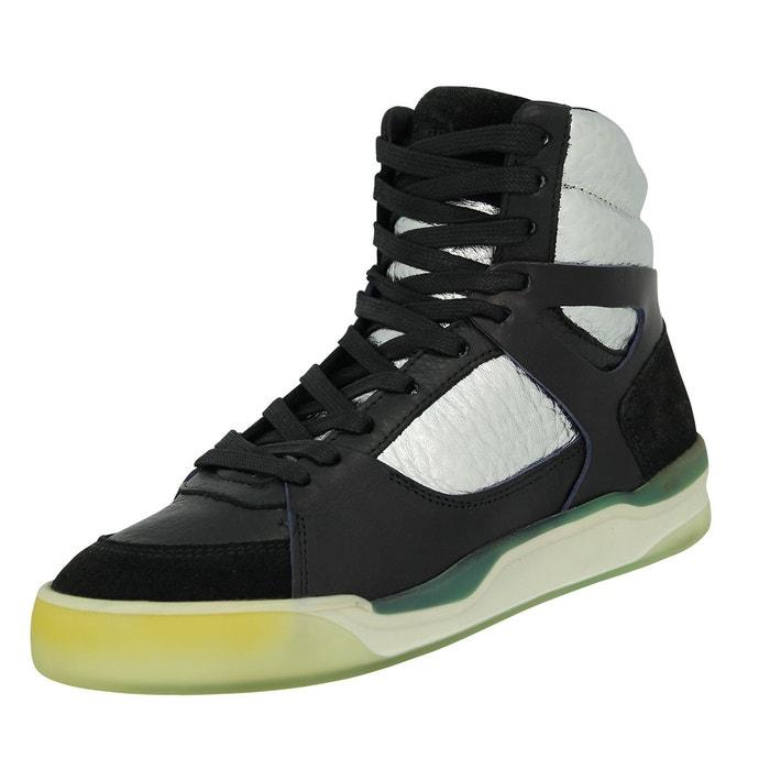 Puma mcq move femme mid wns chaussures mode sneakers femme noir argent  noir Puma  La Redoute