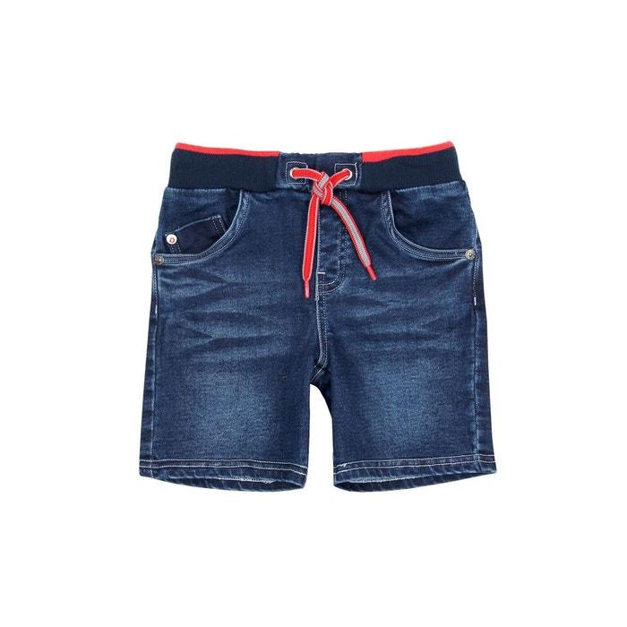 ba293d032792a Bermuda en jean bleu Boboli | La Redoute