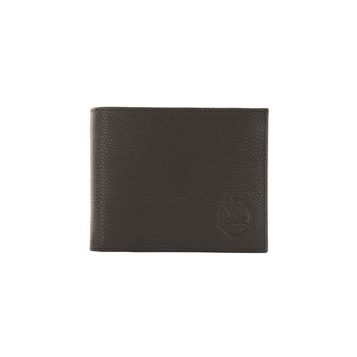 Portefeuille en cuir de vachette grainé L'aiglon | La Redoute Réduction 2018 Vente Acheter rvSRV2i
