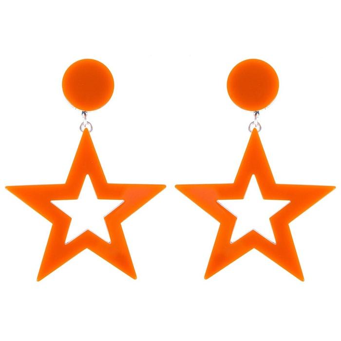 Boucles d'oreilles blondie orange couleur unique Reine Rosalie | La Redoute Sast Sortie Meilleure Vente En Gros En Ligne Pré Commande À Vendre 1ZcH8PO8