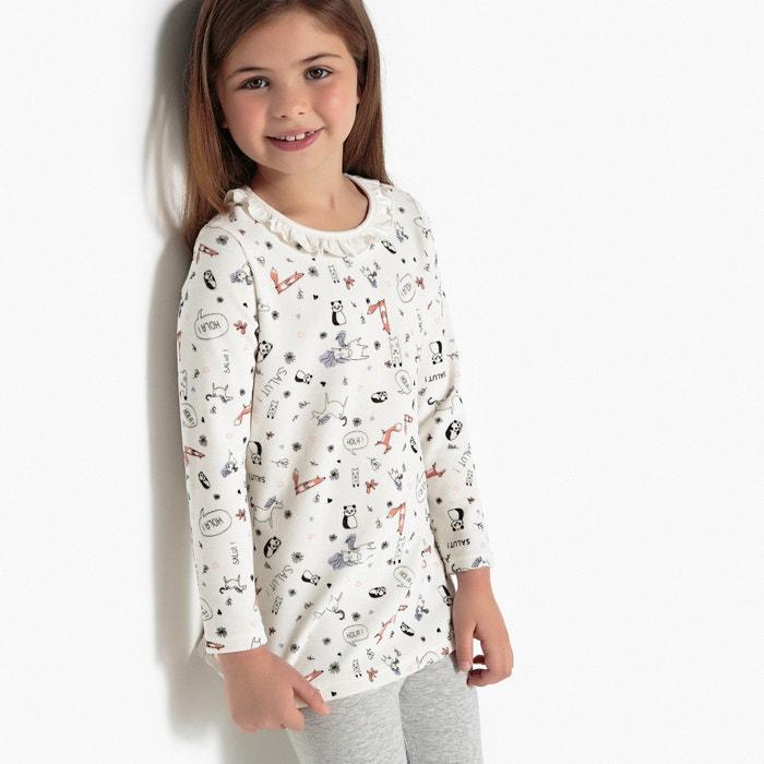 2579b5000 Pijama con 2 prendas de terciopelo y estampado