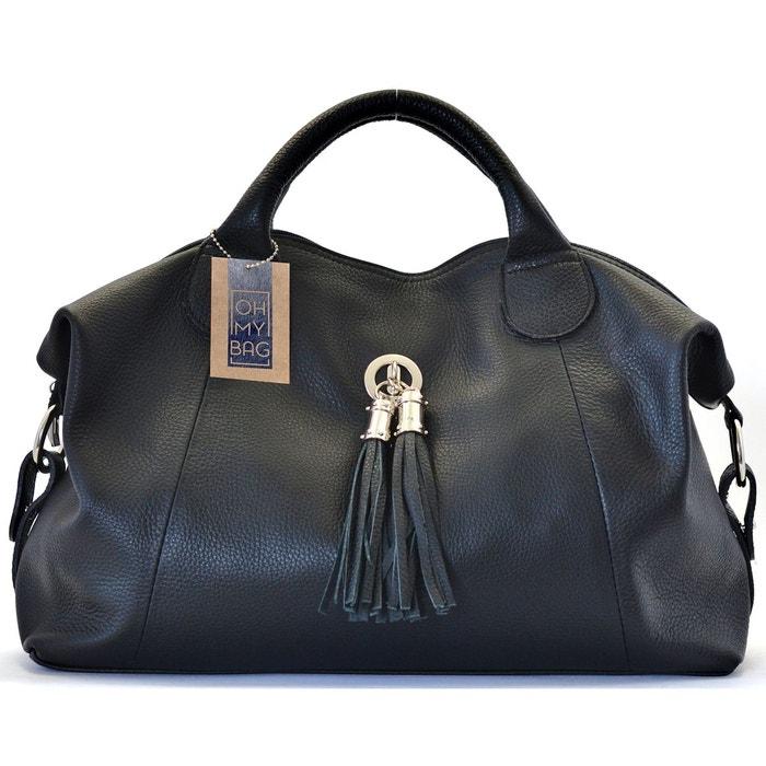 Sac à main cuir grainé chambord Oh My Bag   La Redoute c77397117d7b