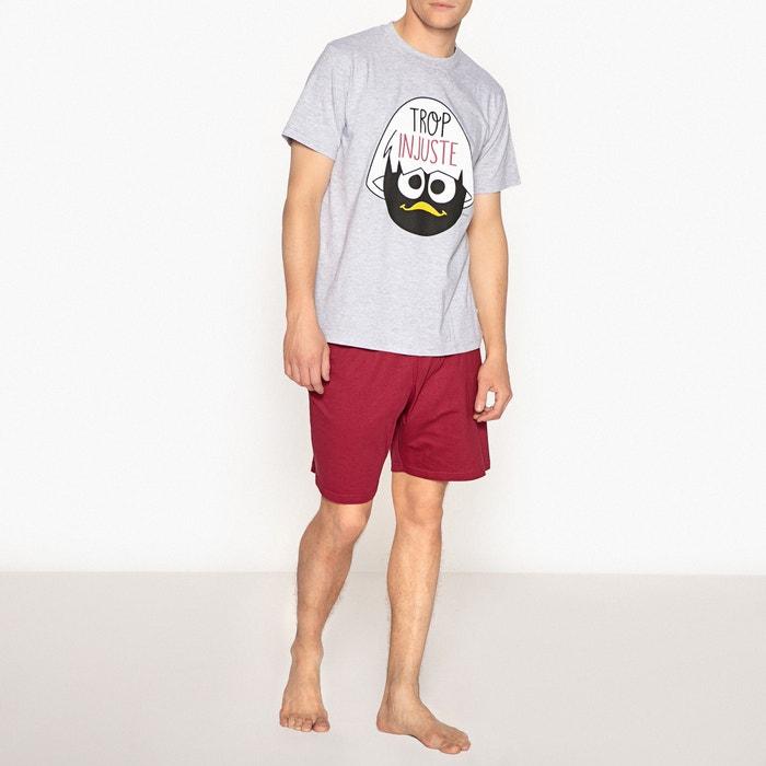 Calimero Printed Cotton Short Pyjamas  CALIMERO image 0