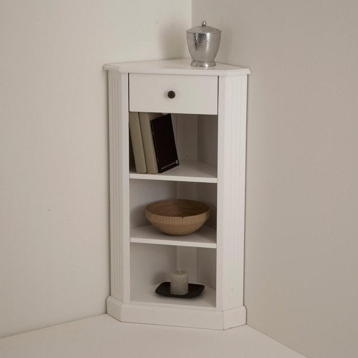 Móvel de canto, lacado branco, Authentic Style La Redoute Interieurs