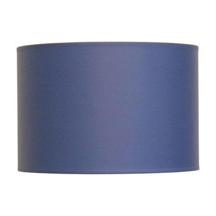abat jour cylindre a la carte bleu en tissu bleu keria la redoute. Black Bedroom Furniture Sets. Home Design Ideas