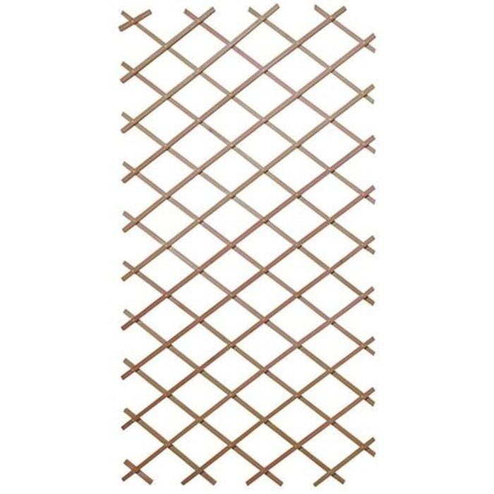 Panneau treillis en bois 120 x 180 cm bois fonc jardindeco la redoute - Panneau japonais la redoute ...