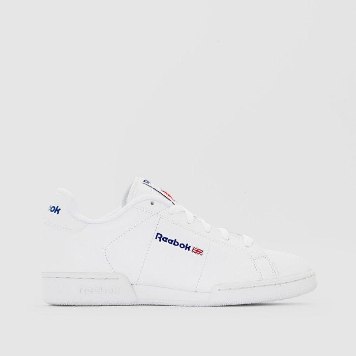 ba2630147cd Leren sneakers met veters npcii wit Reebok | La Redoute
