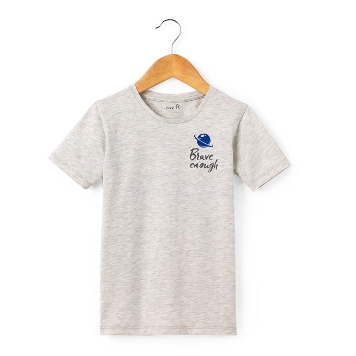 Image T-shirt imprimé dos 3-12 ans La Redoute Collections