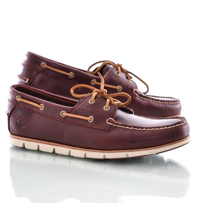 Timberland Tidelands Chaussures Redwood Redoute La Bateau Marron gIfPTcF4W