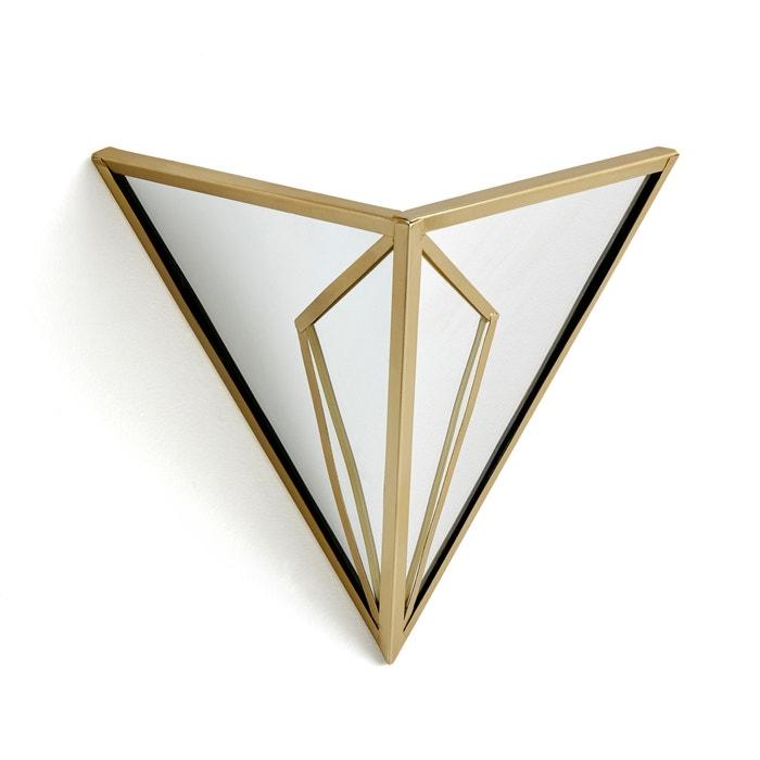 Trigala Art Deco Geometric Mirrored