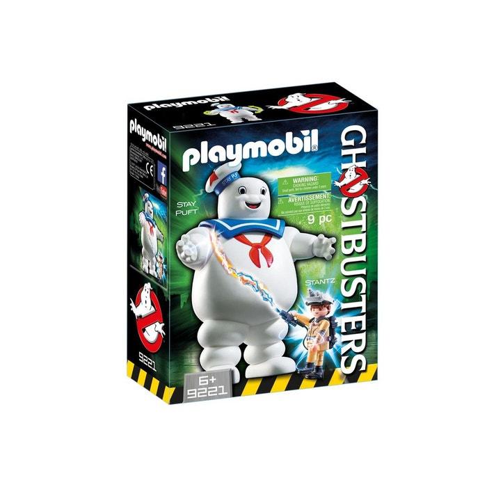 Playmobil 9221 ghostbusters bibendum chamallow et stantz couleur unique pla - La redoute playmobil ...
