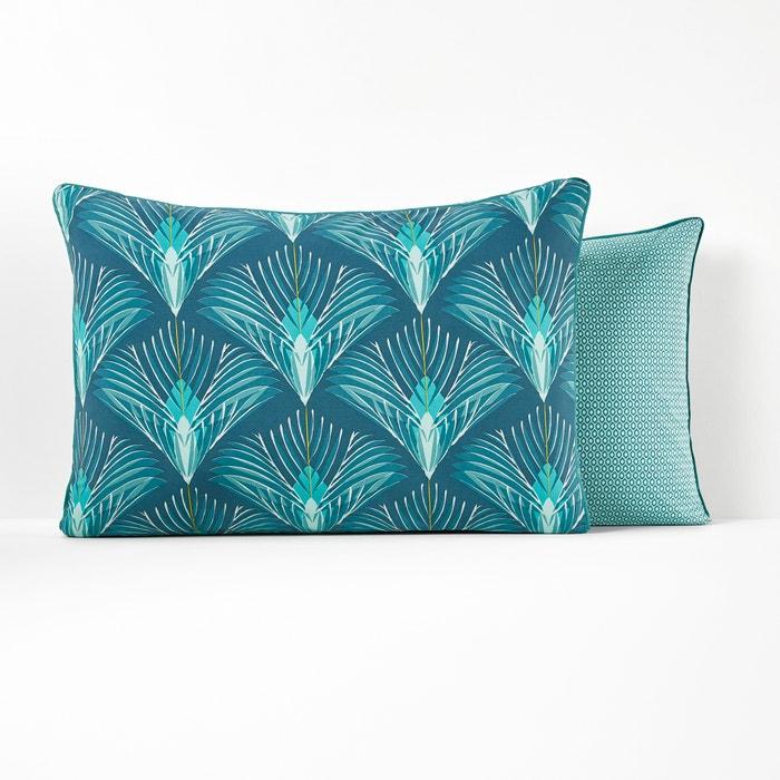 Pampelune Cotton Percale Pillowcase  La Redoute Interieurs image 0