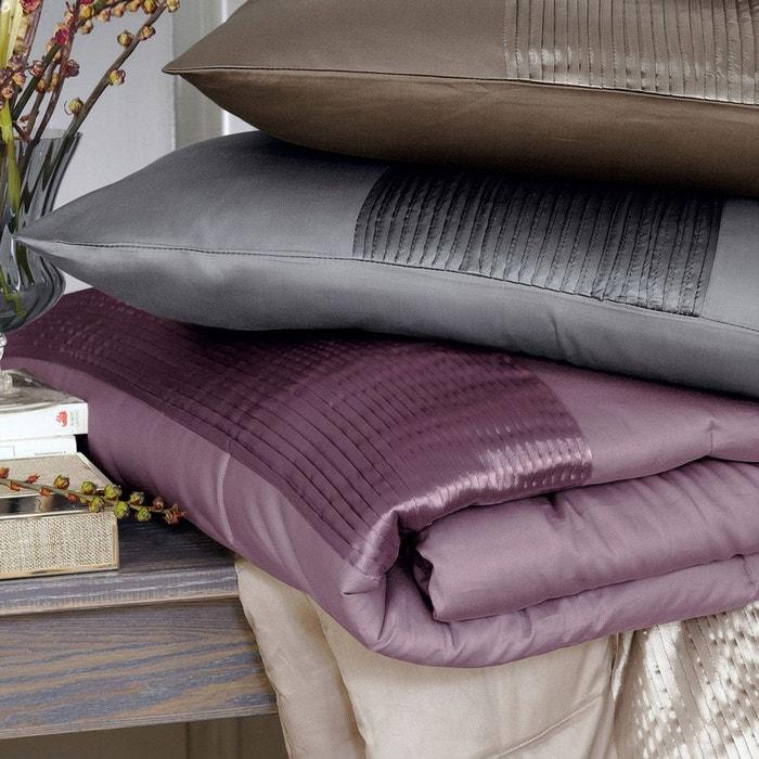 couvre lit satin de coton aemi la redoute interieurs la. Black Bedroom Furniture Sets. Home Design Ideas