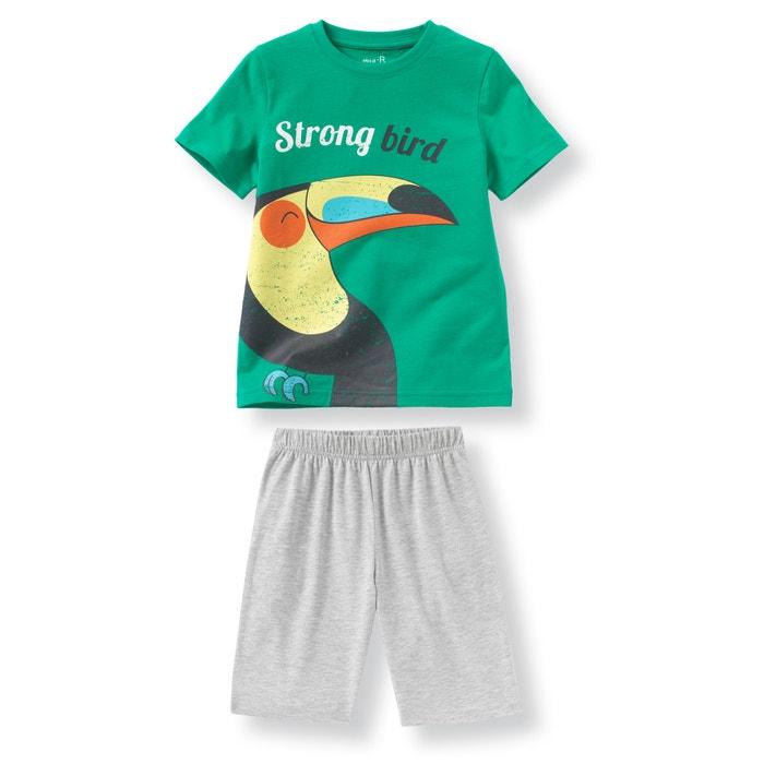 Imagen de Pijama con short estampado de tucán 2-12 años abcd'R