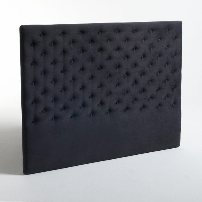 Image Tête de lit capitonnée en velours Jédéo La Redoute Interieurs