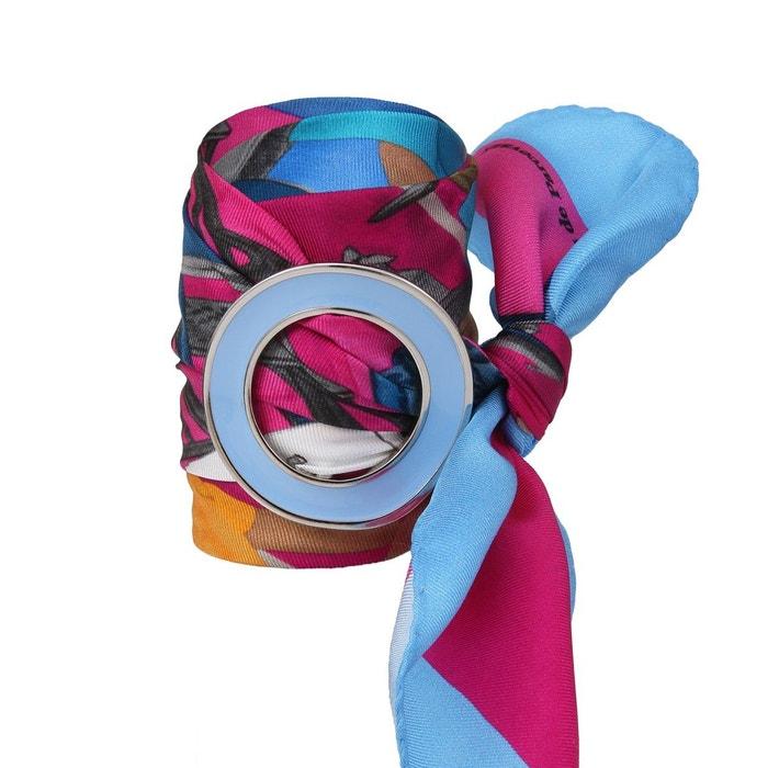 Prix Pas Cher De Pré-commande Mini carré en soie bleu parisienne fuschia Ines De Parcevaux | La Redoute Prix Pas Cher Pas Cher Im2Yv8G2