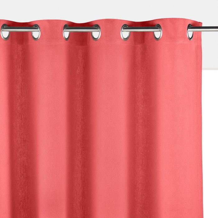 Unifarbener Vorhang PANAMA, Baumwolle mit Ösen  La Redoute Interieurs image 0