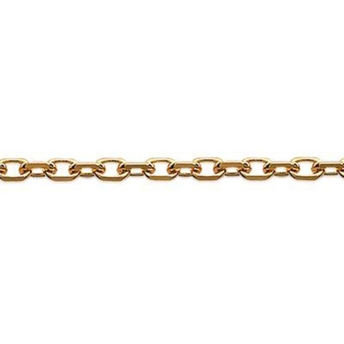 Collier cha ne cou 50 cm maille for at diamant e 1 5 mm - Code promo la redoute livraison gratuite sans minimum d achat ...