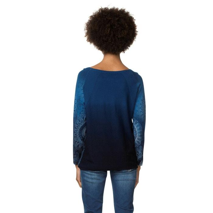 punto Jersey cuello de DESIGUAL redondo con fino 4ZSqxH