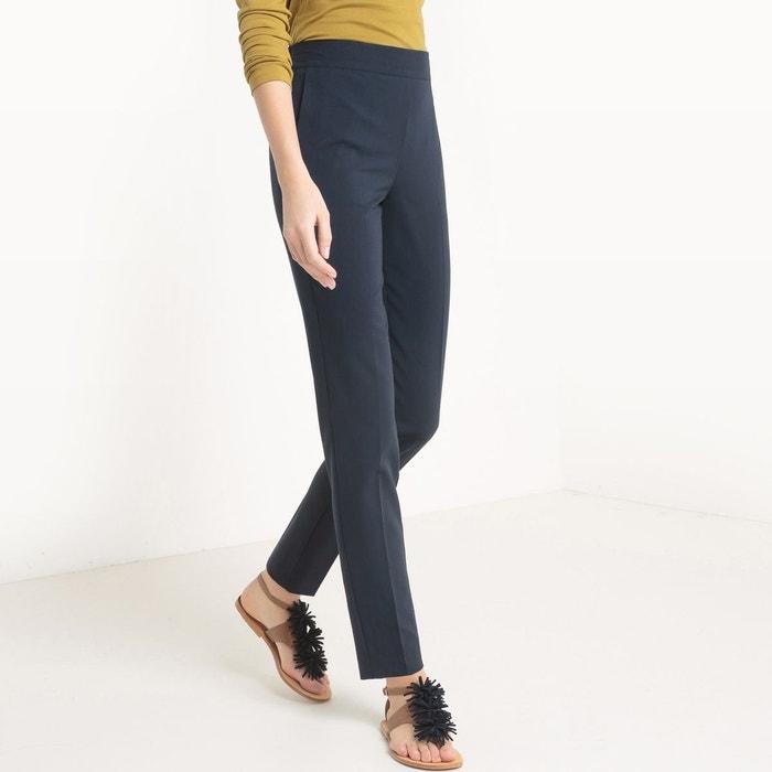 Pantalon slim, taille élastiquée La Redoute Collections