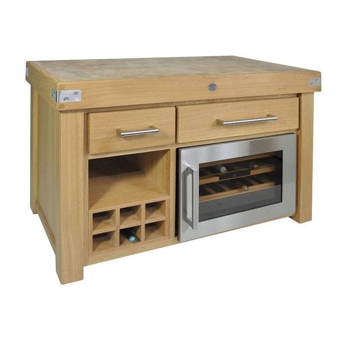 billot de cuisine avec cave vin int gr e 292634 12 jardindeco la redoute. Black Bedroom Furniture Sets. Home Design Ideas