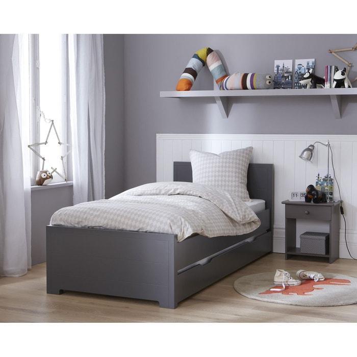 lit gigogne promo avec sommiers anthracite oscar anthracite alfred et compagnie la redoute. Black Bedroom Furniture Sets. Home Design Ideas