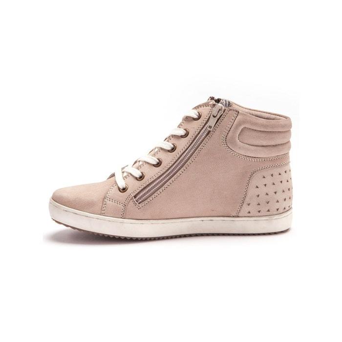 Sneakers zippés, compensés, grande largeur Balsamik
