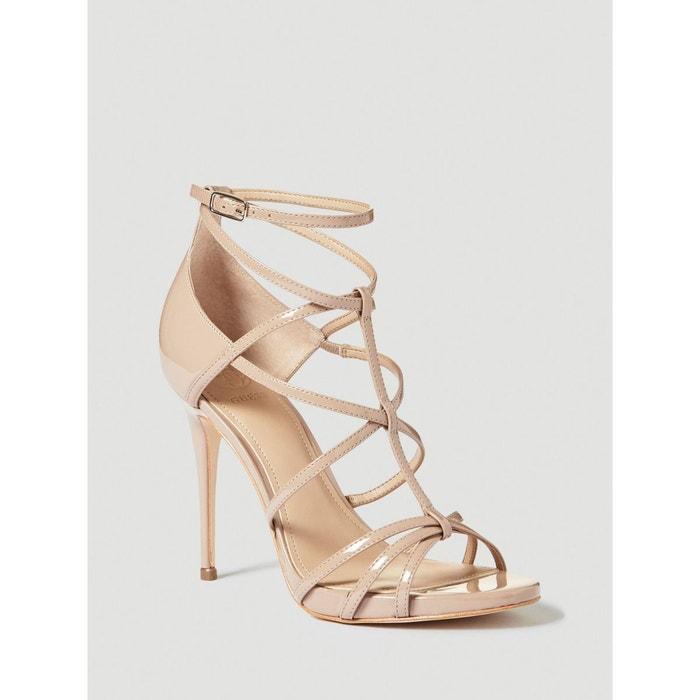 Sandale toriana vernie beige Guess   La Redoute 96d435075726