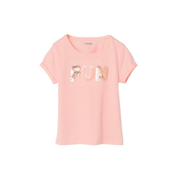 Vertbaudet T-Shirt b/éb/é Fille /à Message