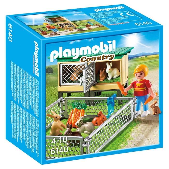 Enfant avec enclos lapins pla6140 couleur unique playmobil la redoute - La redoute playmobil ...