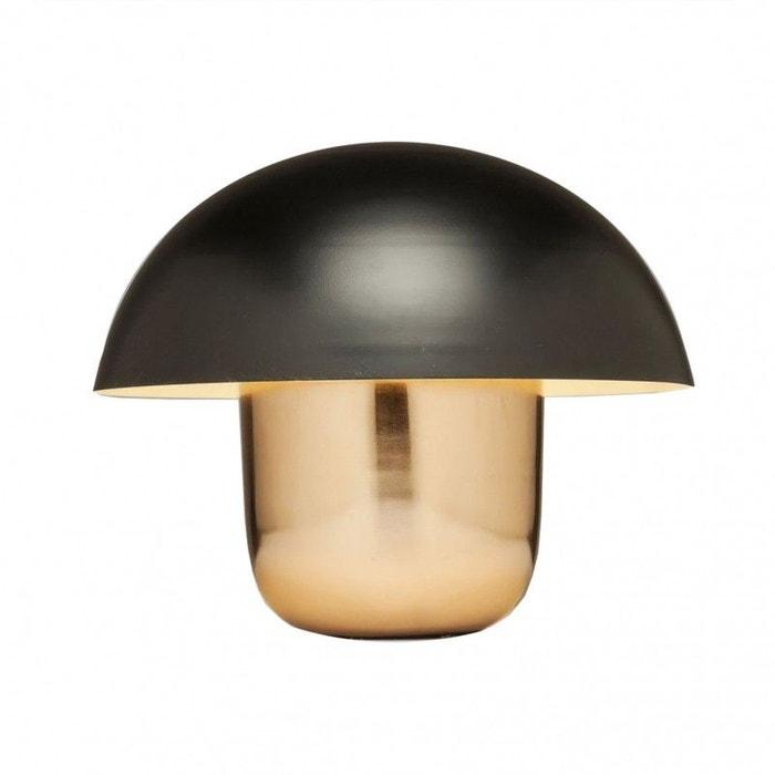 Lampe De Table Mushroom Noire Kare Design Noir Kare Design La Redoute