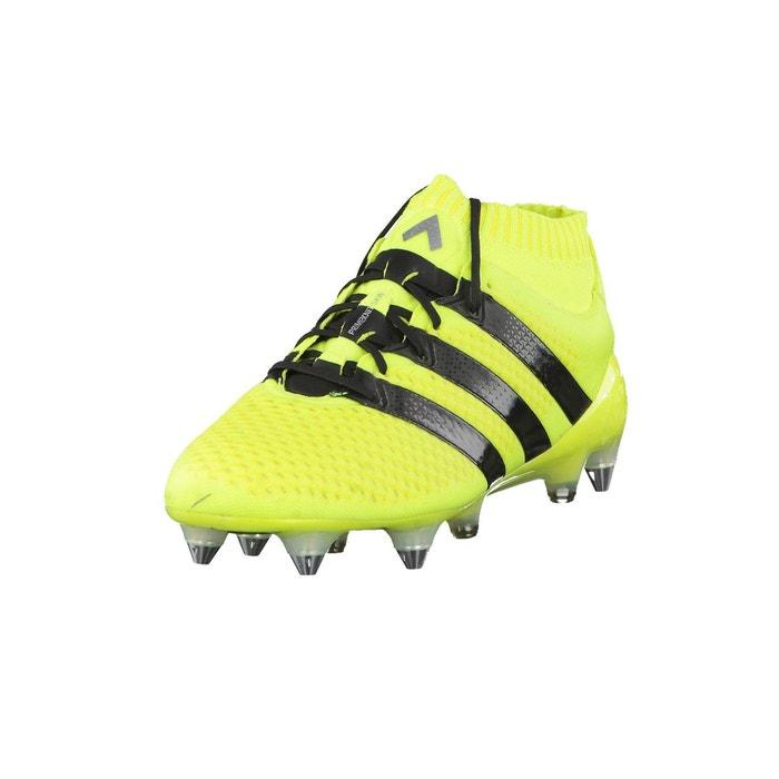 adidas Performance Ace 16.1 Primeknit Jaune - Livraison Gratuite avec - Chaussures Football Homme