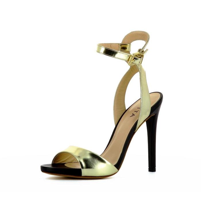 Haute Qualité Sandales femme or Evita Vraiment Pas Cher Boutique D'expédition A8GiirR