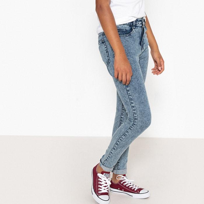 Jeans skinny effetto neve vita alta 10-16 anni  La Redoute Collections image 0