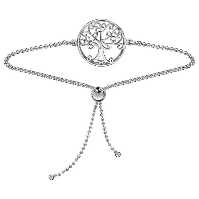Bracelet arbre de vie coulissant chaîne argent 925 So Chic Bijoux   La  Redoute 8af5b845e487