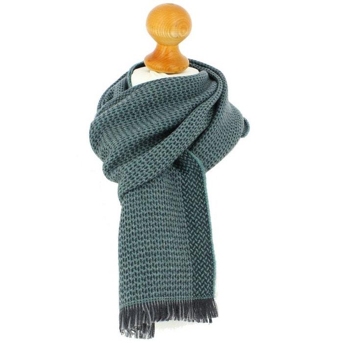 Echarpe en laine d'australie, 35x180cm, vert. vert Tony Et Paul | La Redoute