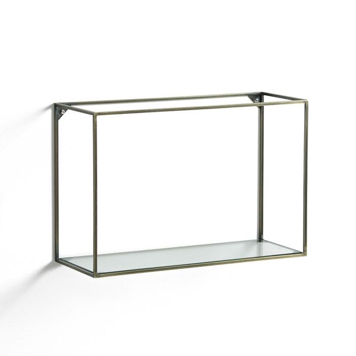 Oshota Horizontal Metal/Glass Shelving Unit  AM.PM. image 0