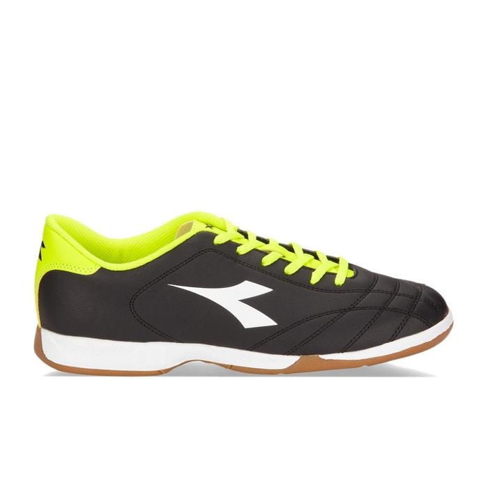 Chaussure de football 6play id  c3740 - noir-blanc-jaune fluo diadora Diadora  La Redoute