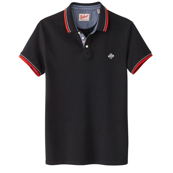 """Kurzärmeliges Poloshirt """"PS Harbour"""" aus Pikee  SCHOTT image 0"""