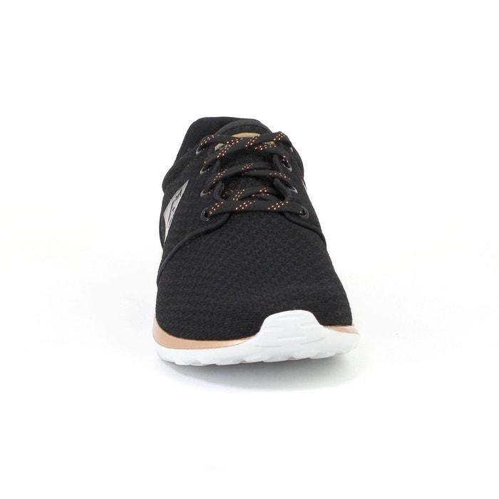 Baskets dynacomf noir / rose Le Coq Sportif