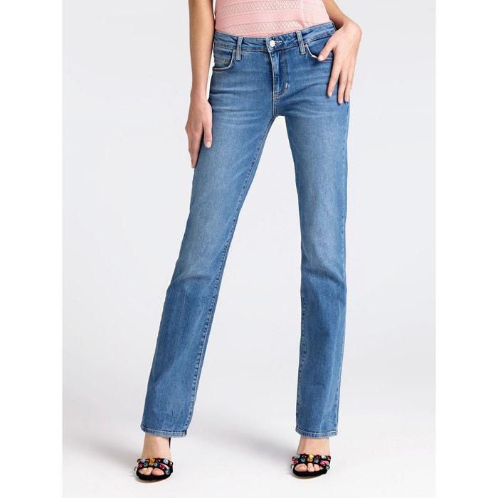 4c04498c7c7d Jean skinny modele 5 poches bleu ciel Guess